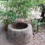 Wasserbrunnen aus Sandstein