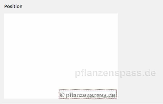 wasserzeichen Plugin 4 logo Anzeige der Lage