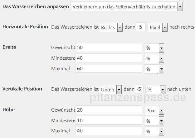 wasserzeichen Plugin 5 logo positionieren